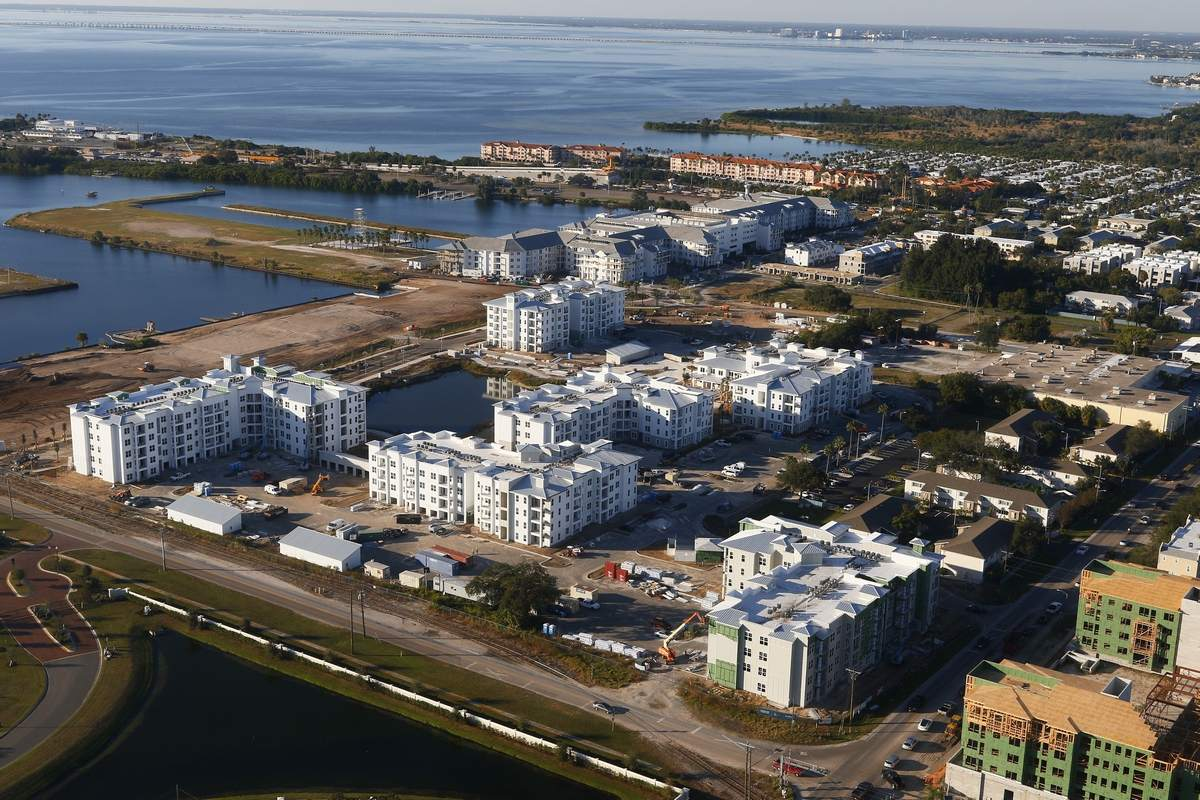 Westshore Marina District, Tampa aerial development